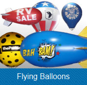 advertisingballoons flying balloons