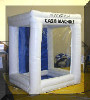 air blowing money machine