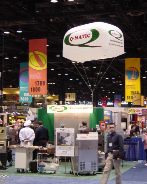 Pin trade show advertising inflatables on pinterest for Craft supply trade shows